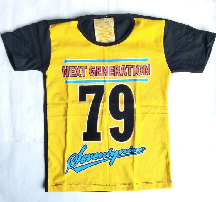 Kaos Anak Number Seventynine - https://credokid.com/produk/jual-baju-anak-murah/
