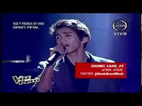 La Voz Peru 20-12-13 DANIEL LAZO canta - AMOR AMOR [EQUIPO PUMA] VIERNES 20/12/13 (HD) - http://yoamoayoutube.com/blog/la-voz-peru-20-12-13-daniel-lazo-canta-amor-amor-equipo-puma-viernes-201213-hd/