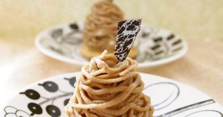 天津甘栗で簡単にマロンペーストができます♬モンブランにしたり焼き菓子に入れたり。。活用度大です^^