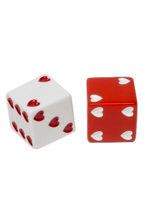 Sweetheart 25Mm | Playing Dice | Gamblers General Store