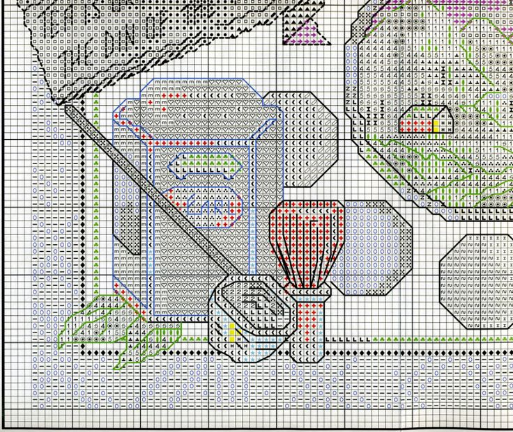 Gallery.ru / Фото #8 - Janlynn Coffee & Tea - embroidery