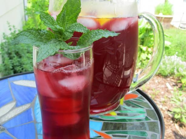 Hibiscus Tea (West Africa) from Food.com:   ZWT7 Africa. The national drink of Senegal and so-called the Sudanese rose. This drink is found all over West Africa. Every busy street, train station, bus depot, has its vendors. The dried flowers may be found in every market. From, www.congocookbook.com.