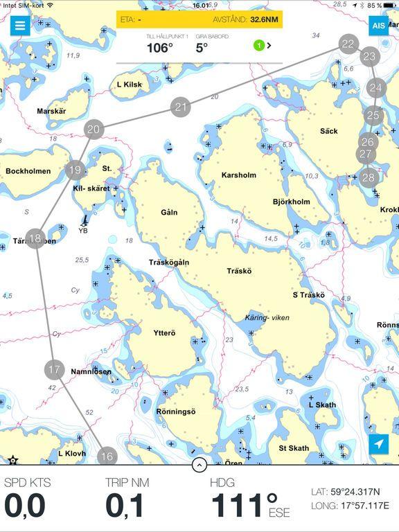 Eniro på sjön av Eniro Sverige Online AB