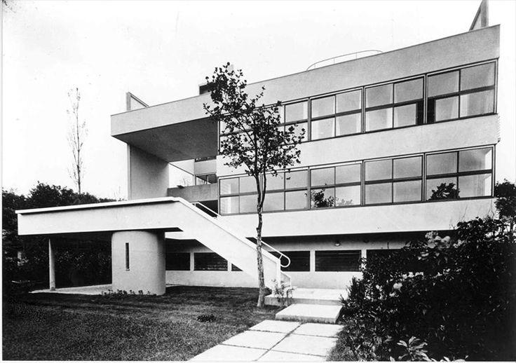 Le Corbusier   Charles-Édouard Jeanneret-Gris (1887-1965)   Villa Stein-de-Monzie a Garches
