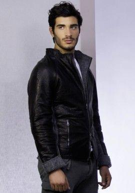 Jacket - Nappa/Wool BUY IT NOW ON www.dezzy.it!