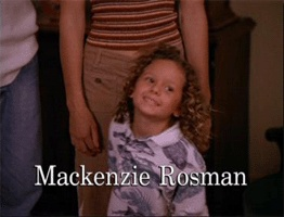"Mackenzie Rosman as ""Ruthie"" on 7th Heaven."