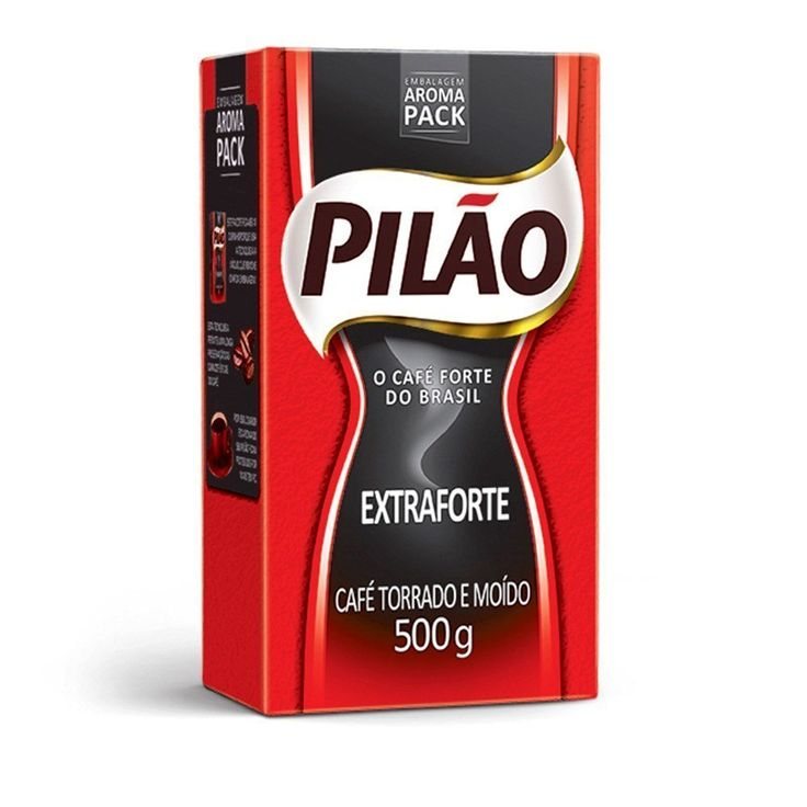 Cafe Pilao Extraforte Extra Strong Coffee 500gr 4 Pack -- Want additional info? Click on the image.