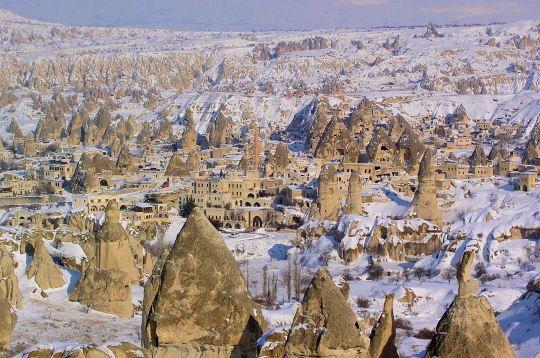 Virée à travers la Cappadoce