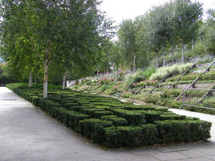 Parc Andre Citroen in Paris by Gilles Clement