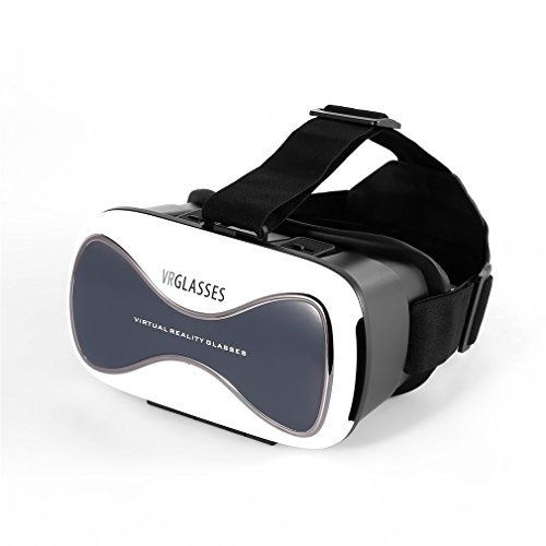 Gafas VR (Realidad Virtual) 3D Realidad Virtual para Teléfono, color blanco - https://realidadvirtual360vr.com/producto/leshp-gafas-vr-3d-realidad-virtual-para-smartphone-color-blanco/ #RealidadVirtual #VirtualReaity #VR #360 #RealidadVirtualInmersiva