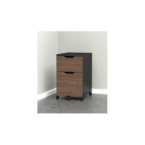 Nexera Next 2-Drawer Mobile File Cabinet