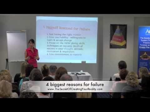 4 Biggest Reasons For Failure  Visit us on  http://beyondgoodhealthclinics.com.au