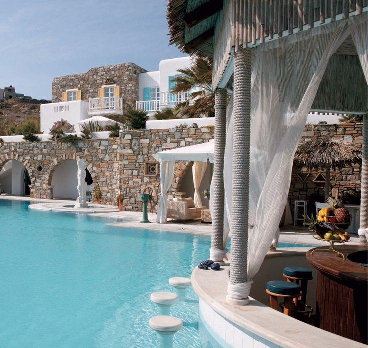 Hotel Kivotos - Mykonos, Greece - by the pool