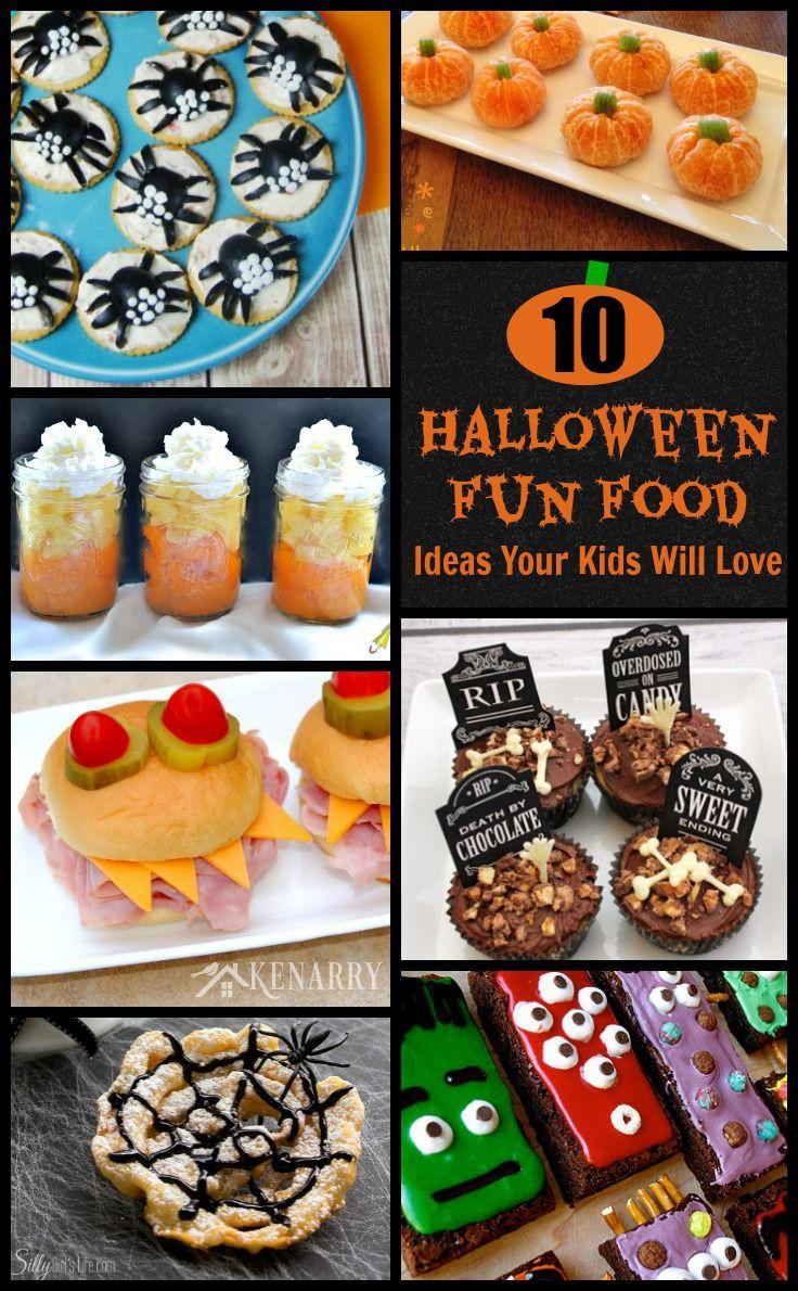 air jordan retro 8 doernbecher 10 Halloween Fun Food Ideas    My kids will love these