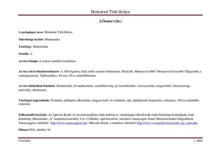 Molnárné Tóth Ibolya | PDF to Flipbook