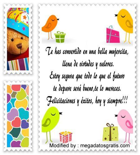 mensajes de texto para quinceañera,palabras para saludar a quinceañera: http://www.megadatosgratis.com/discurso-por-mis-15-anos/