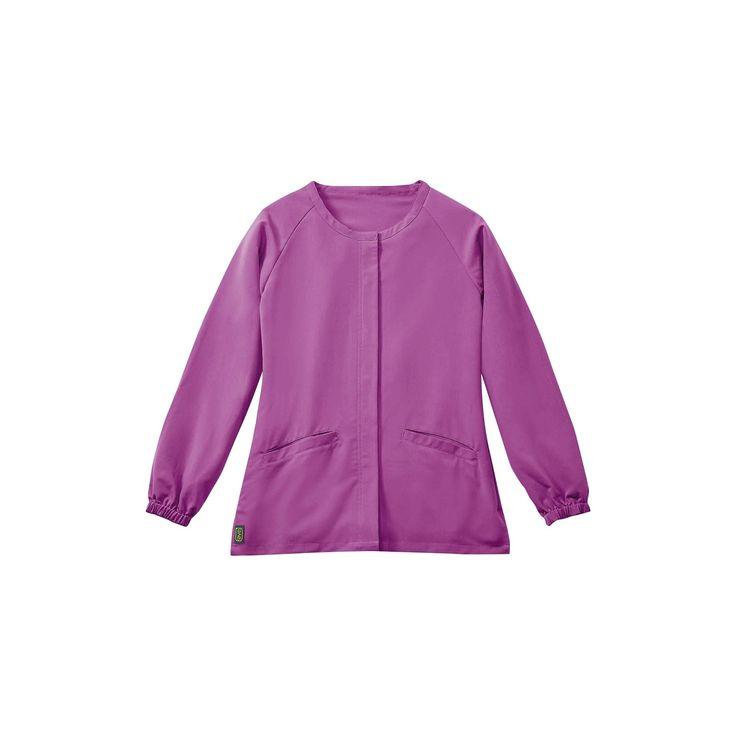 Addison Ave Scrub Jacket Purple X-large