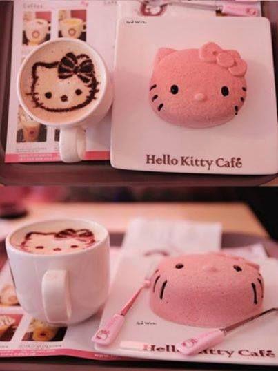 ❤ Hello Kitty Cafe'nin Bir Menüsü ❤