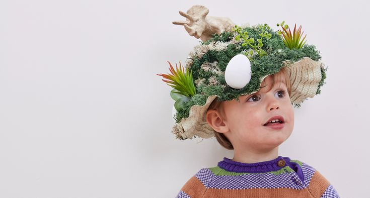This ter-roar-fic bonnet with stand-out from the rest at Easter and it is really simple to make with a few supplies! There are countless ways to create the foliage for your dino to sit in. What dinosaur would you choose to put on your bonnet?