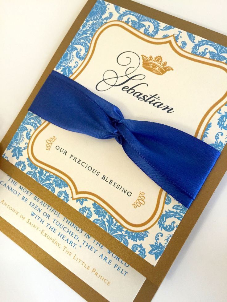 new to anaderoux on etsy royal prince baby shower invitations royal blue and gold