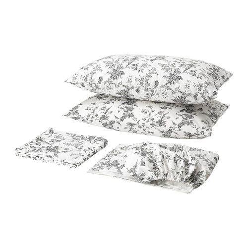 alvine kvist sheet set full ikea kate 39 s room pinterest diy headboards gray and guest. Black Bedroom Furniture Sets. Home Design Ideas