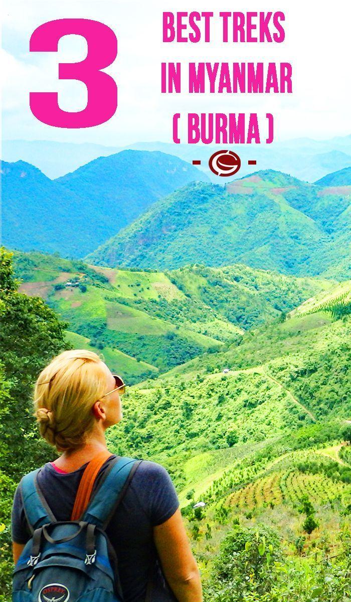 The best treks in Myanmar. Trekking inspiration for adventure backpacking around beautiful Burma. Globemad mad blog