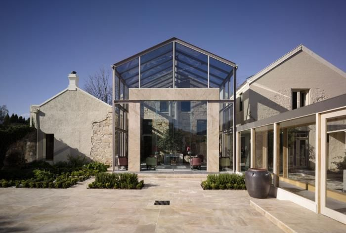 Conservatory and Terrace