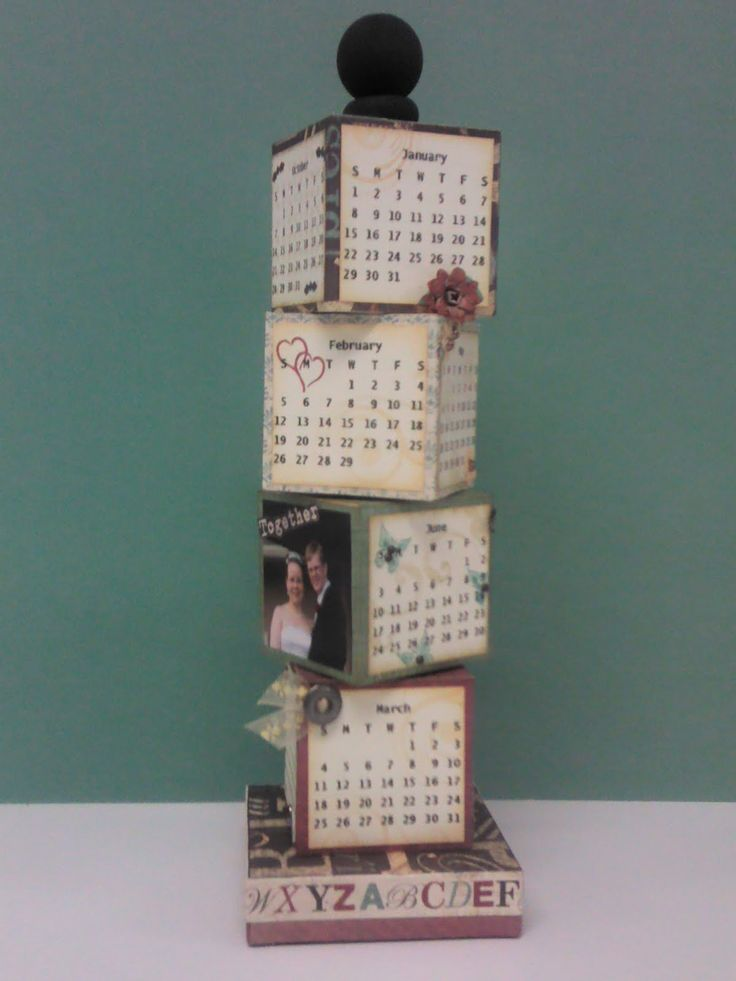 29 best Perpetual Calendar project images on Pinterest Diy paper - how to make a perpetual calendar
