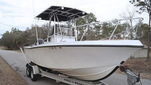 Center Console Boat Mako 224 INSHORE OFFSHORE FISHING 200HP Mercury #makoboatsconsoles #makoboatsfishing