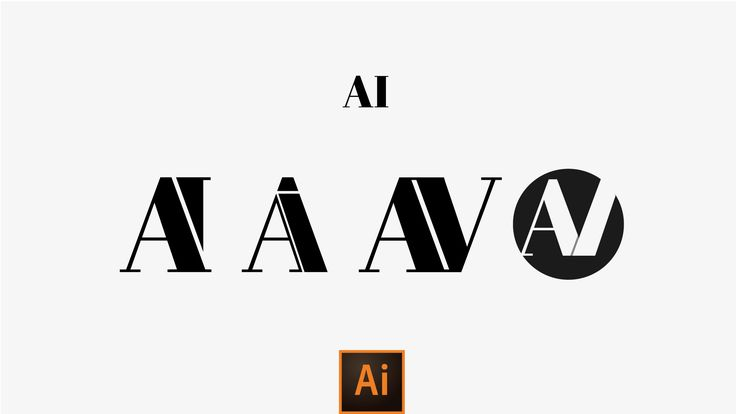 Come Creare Logotipi semplici con Adobe Illustrator (Serif Style)