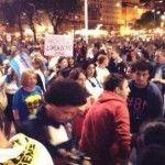Poca gente en la convocatoria del #8N: las burlas en Twitter