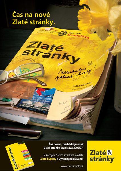 Čas na nové Zlaté stránky (2006/2007) #Mediatelcz #Zlatestranky
