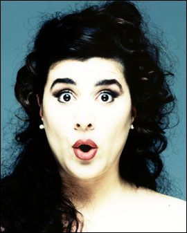 the bubbly coloratura mezzo, Cecilia Bartoli