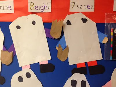 Chalk Talk: A Kindergarten Blog: 10 Trick-or-Treaters