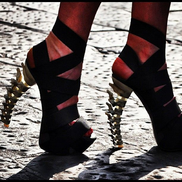 : Shoes, Killers Heels, Amazing Heels, Bones, Teens Style, Stilettos, High Heels, Style Clothing, Massage Therapy