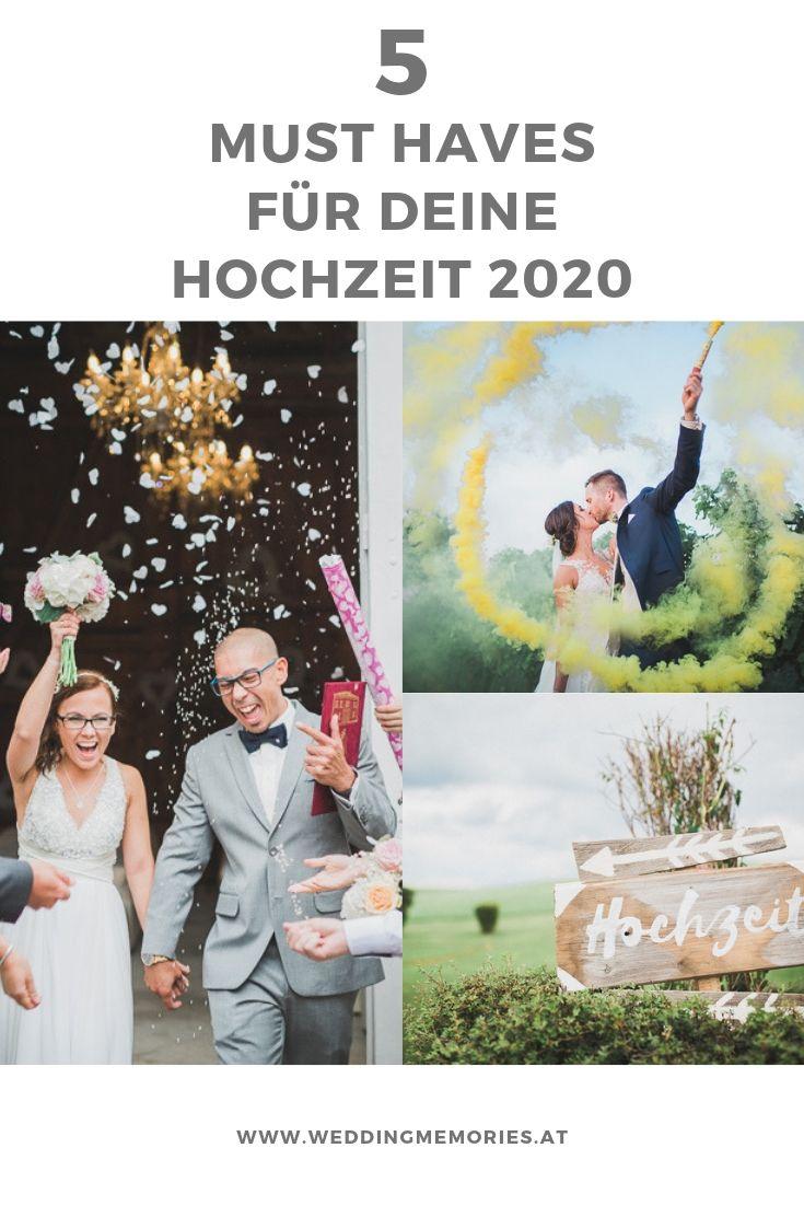 5 Must Haves Fur Deine Hochzeit 2020 Hochzeit Hochzeitsplanung Perfekte Hochzeit