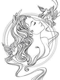 aphrodite greek goddess tattoo - Google Search