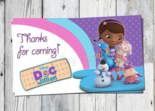 Hey, I found this really awesome Etsy listing at https://www.etsy.com/listing/165342703/doc-mcstuffins-favor-tags-printable-dr