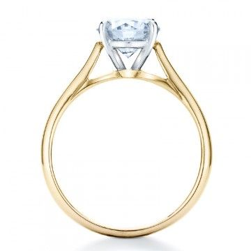 Naveya & Sloane engagement ring, made to order in Auckland New Zealand. The Indus Setting