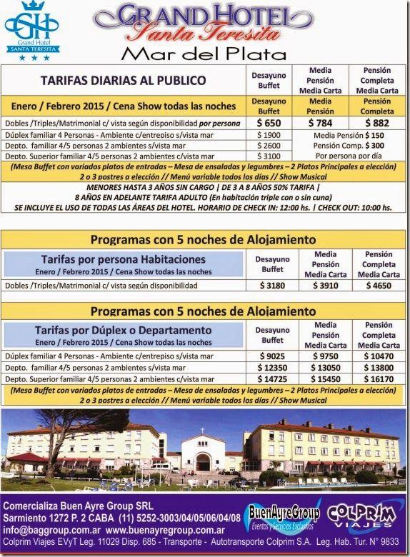 Eventos Buen Ayre Group: Mar del Plata Promociones Viajes Paquetes de Turis...