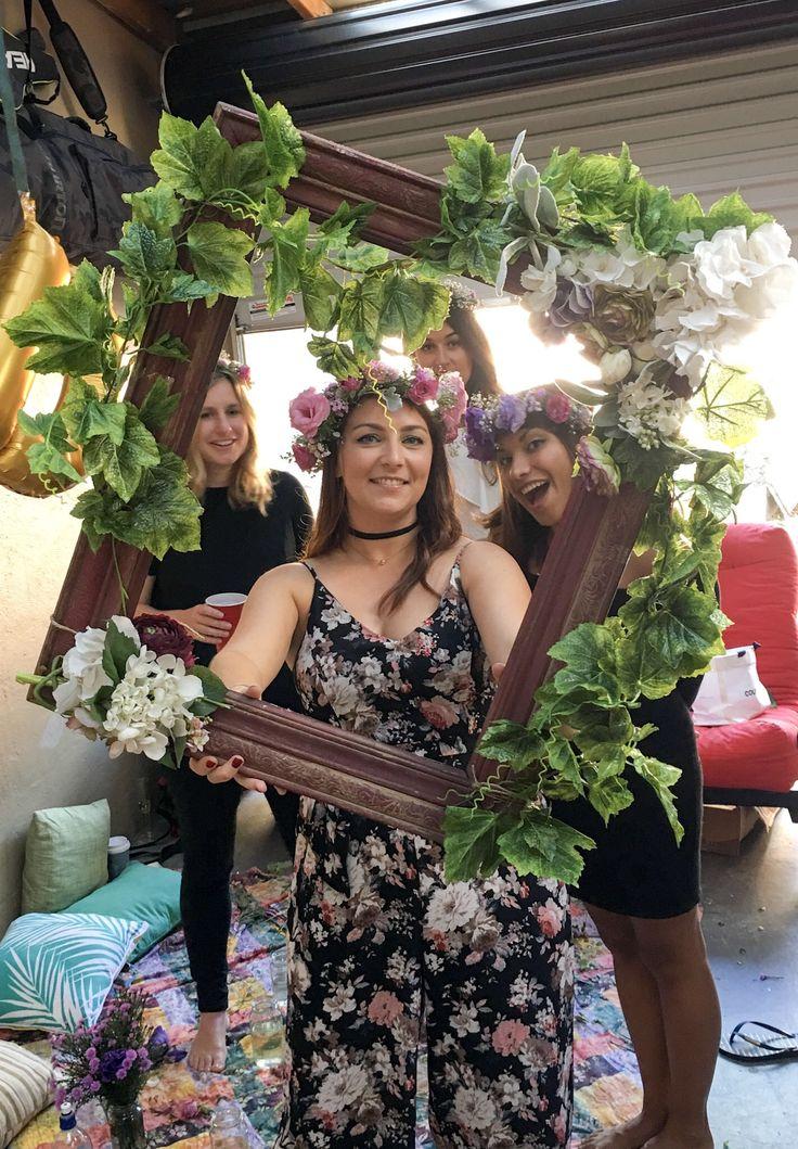 Flower crown making workshop sydney #flowercrowns #sydneyhenparty