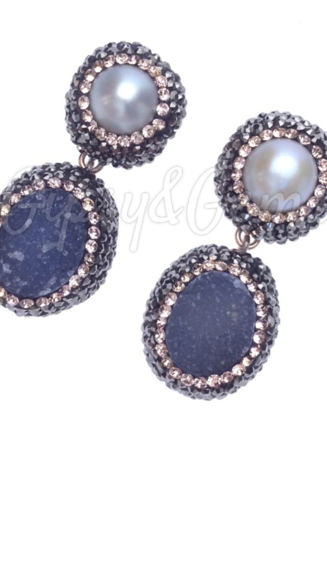 Gipsy&Gems pearls drop earrings