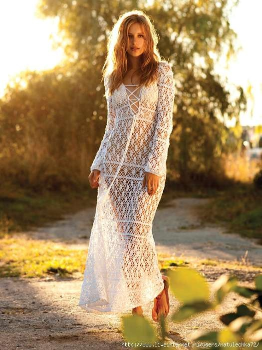Crinochet: To The Max - Free People Maxi Dress