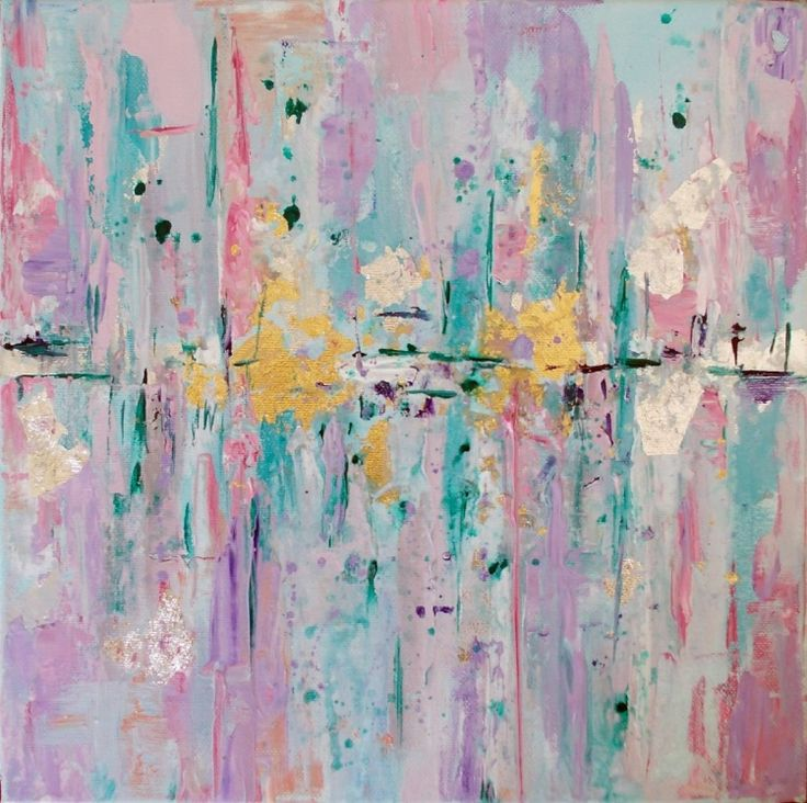 Original abstract painting (2017) Acrylic painting by Antigoni Tziora | Artfinder