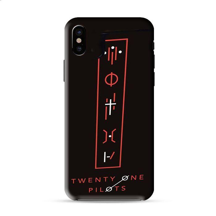 Twenty One Pilots Tattoo Symbol Iphone X 3D Case Caseperson