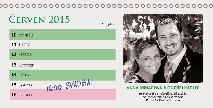 Svatební oznámení SFOT41 - online svatební oznámení s fotkou