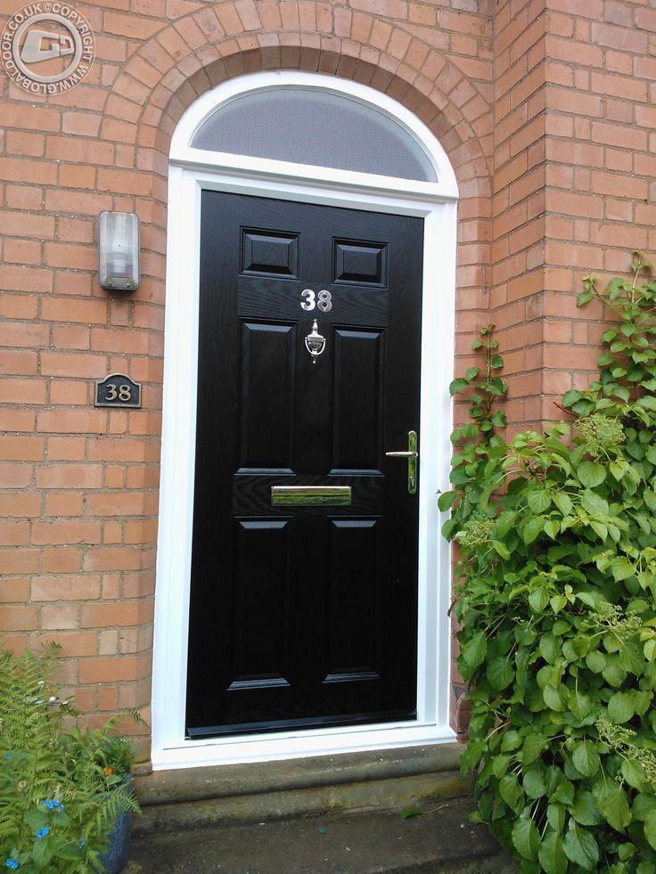 black-6-panel-global-composite-door & 184 best Black Composite Doors - by Global Doors images on Pinterest
