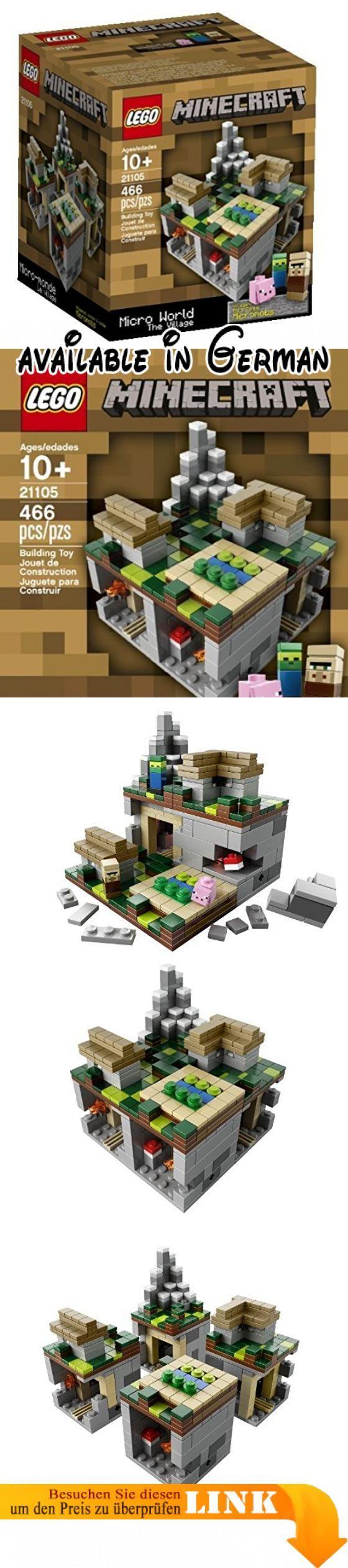 LEGO Minecraft The Village Kinder Kinder Spiel Spielzeug - Minecraft spiele lego