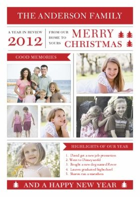 Costco Custom Christmas Cards