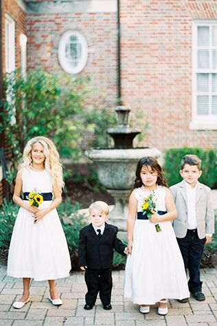 A traditional and classic Southern wedding at the Texas Women's Federation